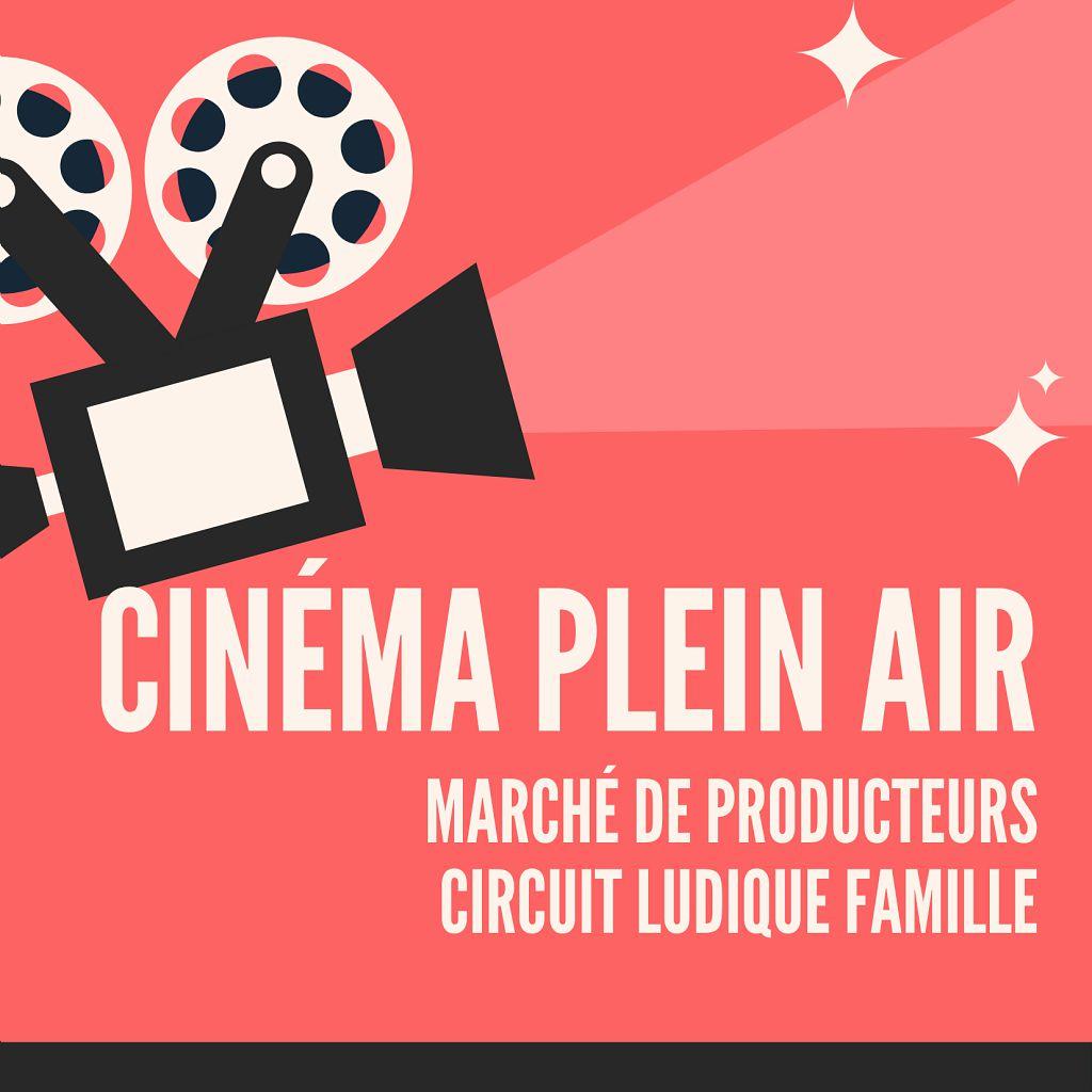 MARCHÉ DE PRODUCTEURS, DÉCOUVERTE DU PATRIMOINE & CINÉMA DE PLEIN AIR