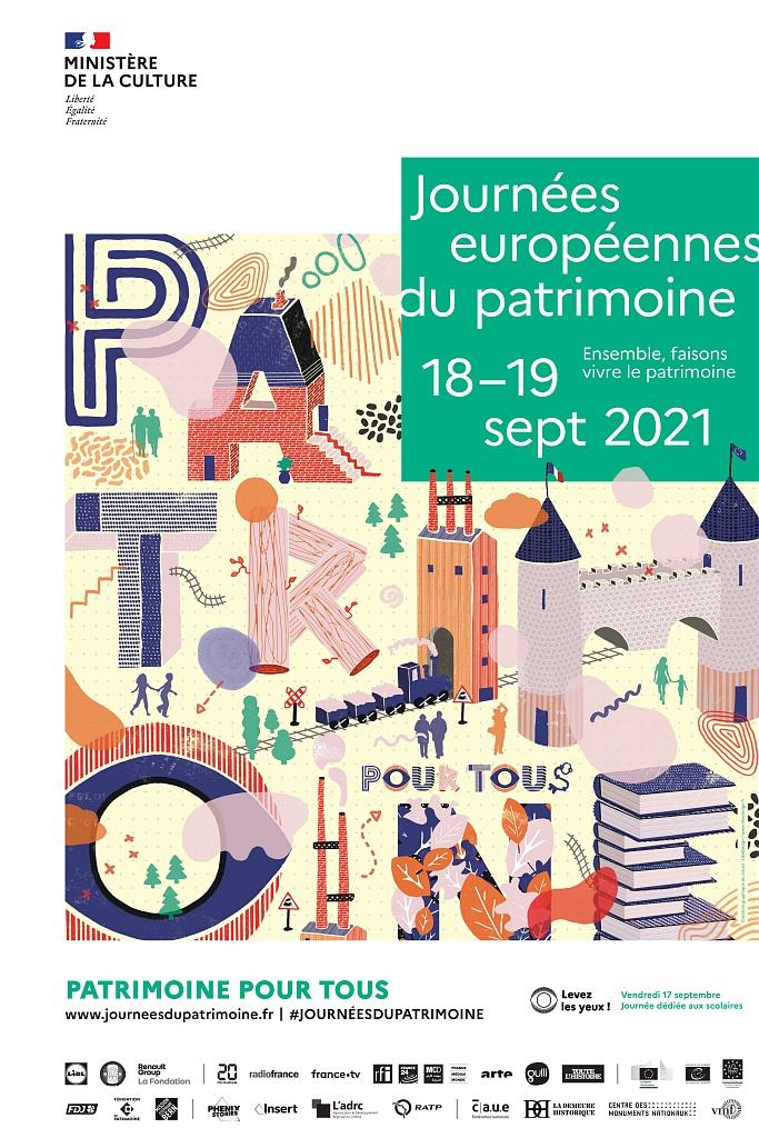 JOURNÉES EUROPÉENNES DU PATRIMOINE - EXPOSITION DE VÊTEMENTS LITURGIQUES ET
